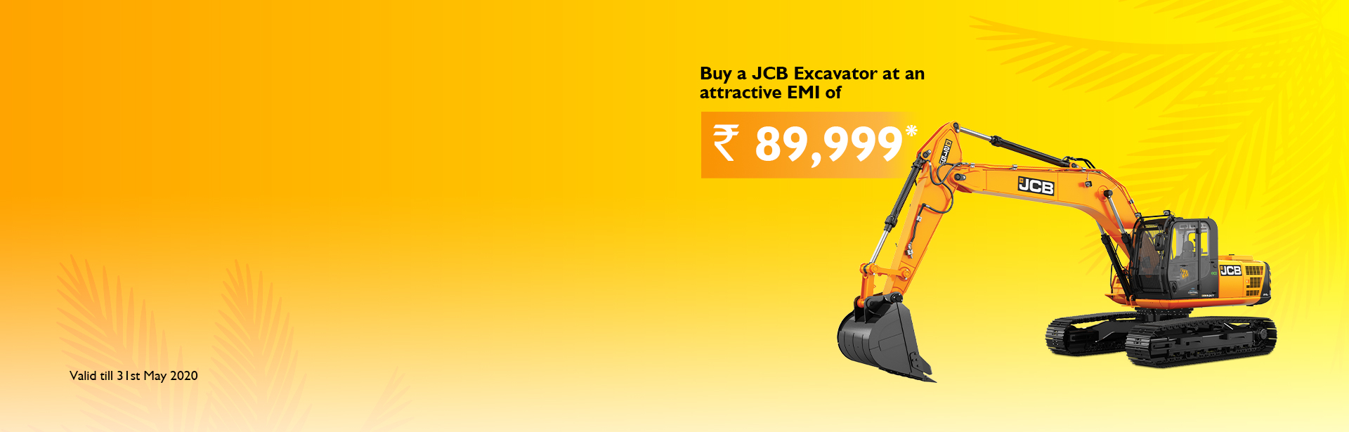 Excavator Mega Summer Offer Jabalpur Frontier Commercial JCB